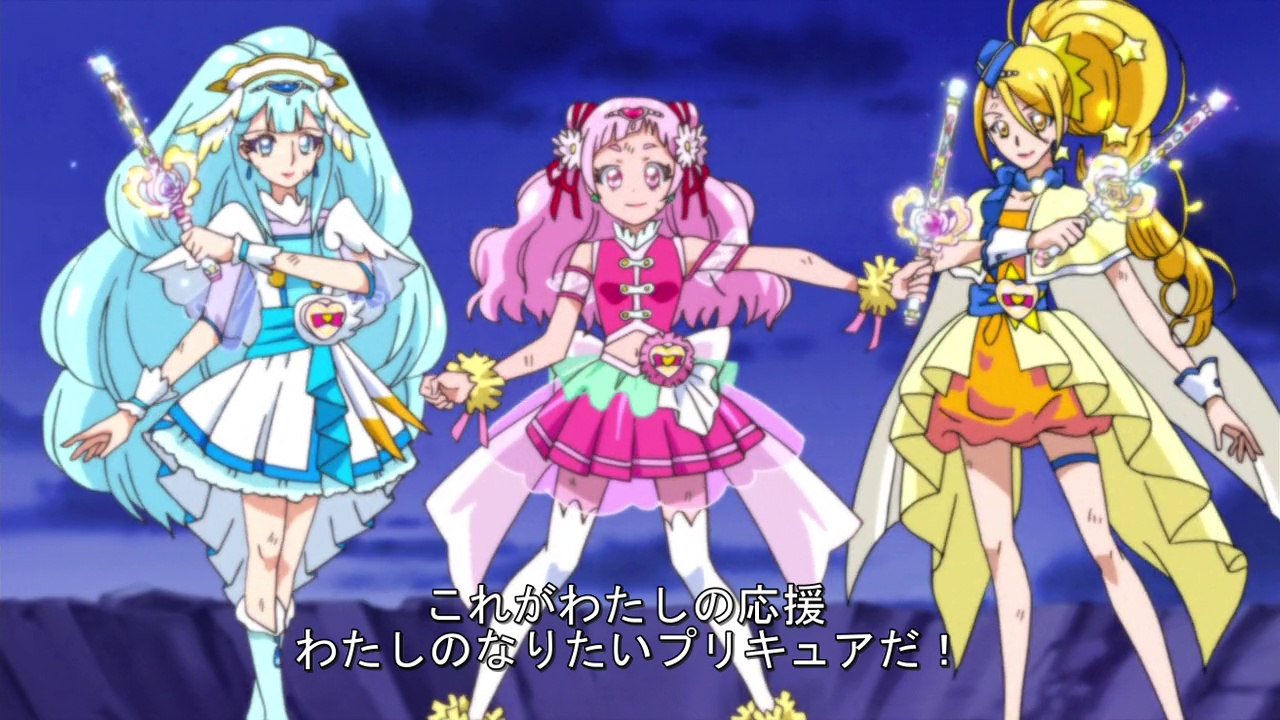 This is the Precure I Want to Become